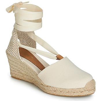 Zapatos Mujer Sandalias Betty London GRANDA Beige