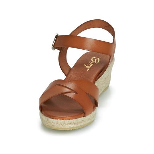 Casual salvaje Zapatos especiales Betty London GIORGIA Camel