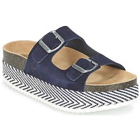 Zapatos Mujer Zuecos (Mules) Betty London GRANJY Marino