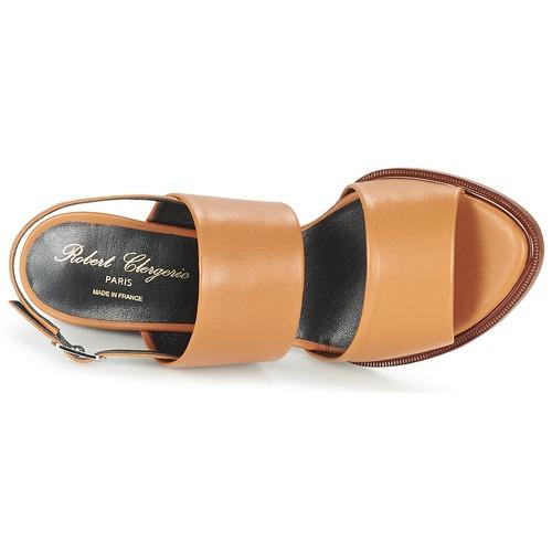 Zapatos Gumi Robert Mujer Sandalias Marrón Clergerie A5RLj4