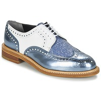 Zapatos Mujer Derbie Robert Clergerie ROELTM Azul / Metalizado / Blanco