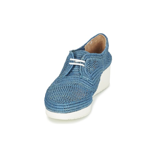 Azul Clergerie Robert Zapatos Derbie Vicolem Mujer hQsdCtr
