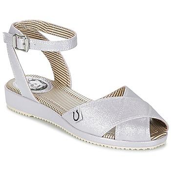 Zapatos Mujer Sandalias Miss L'Fire HARLOW Plata