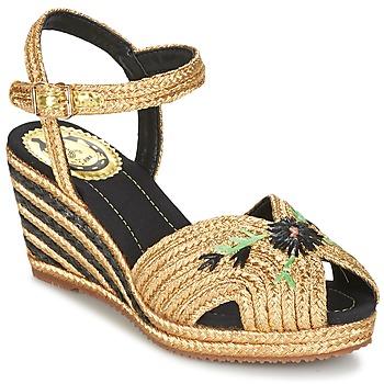 Zapatos Mujer Sandalias Miss L'Fire RENEE Oro