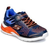 Zapatos Niño Multideporte Skechers ERUPTERS II Marino / Naranja