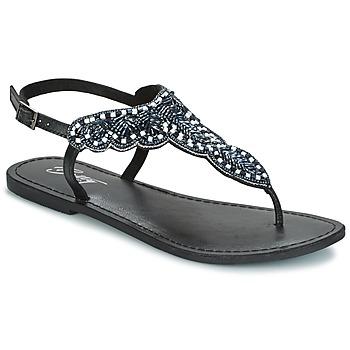 Zapatos Mujer Sandalias Betty London GRESA Negro