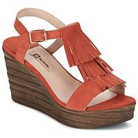 Zapatos Mujer Sandalias Spiral CARLA Naranja