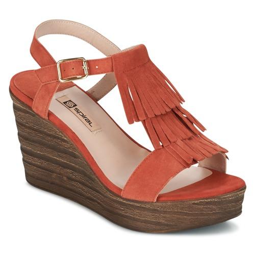 Descuento de la marca Zapatos especiales Spiral CARLA Naranja