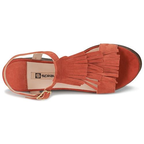 Zapatos Mujer Naranja Sandalias Carla Spiral htQsrCd