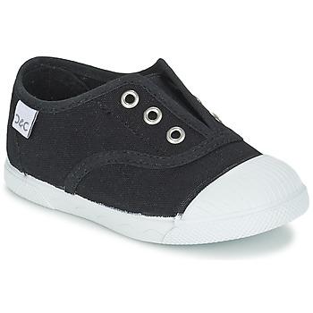 Zapatos Niños Zapatillas bajas Citrouille et Compagnie RIVIALELLE Negro