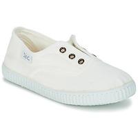 Zapatos Niños Zapatillas bajas Citrouille et Compagnie GAMBOUTA Blanco