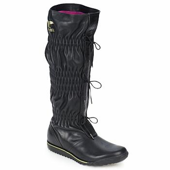 Zapatos Mujer Botas urbanas Sorel FIRENZY Negro