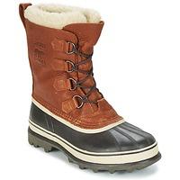 Zapatos Hombre Botas de nieve Sorel CARIBOU WL Tabaco