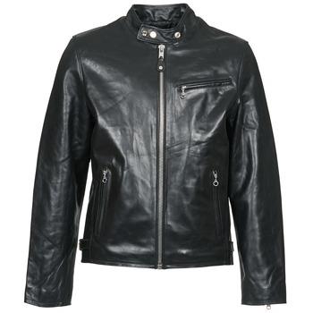 textil Hombre Chaquetas de cuero / Polipiel Schott LC 940 D Negro