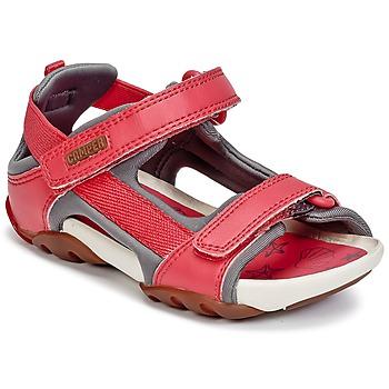 Zapatos Niña Sandalias Camper OUS Rojo