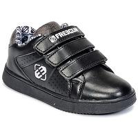 Zapatos Niños Zapatillas bajas Freegun FG ULSPORT Negro / Blanco