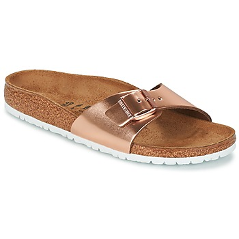 Zapatos Mujer Zuecos (Mules) Birkenstock MADRID Bronce