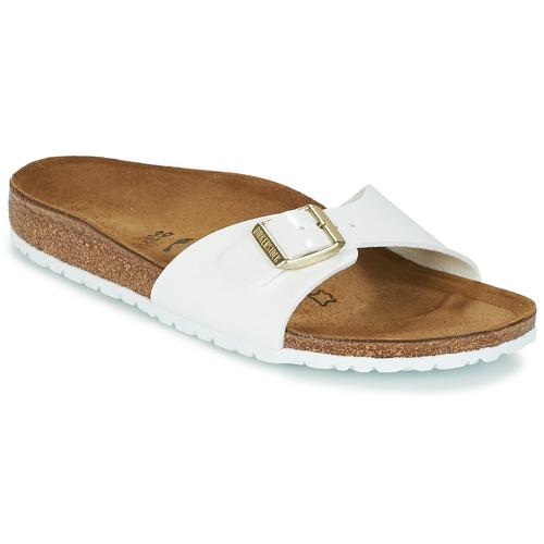 Birkenstock MADRID Blanco / Oro - Envío gratis | ! - Zapatos Zuecos (Mules) Mujer