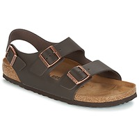 Zapatos Hombre Sandalias Birkenstock MILANO Marrón