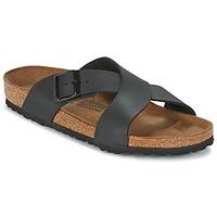 Zapatos Hombre Zuecos (Mules) Birkenstock TUNIS Negro