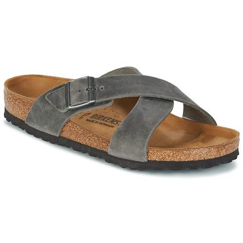Zapatos Hombre Zuecos (Mules) Birkenstock TUNIS Gris