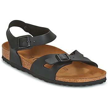 Zapatos Mujer Sandalias Birkenstock RIO Negro