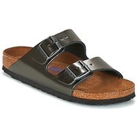 Zapatos Mujer Zuecos (Mules) Birkenstock ARIZONA Antracita