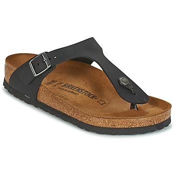 Zapatos Mujer Chanclas Birkenstock GIZEH Negro