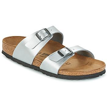 Zapatos Mujer Zuecos (Mules) Birkenstock SYDNEY Plata