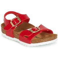 Zapatos Niños Sandalias Birkenstock RIO Rojo