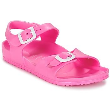 Zapatos Niños Sandalias Birkenstock RIO EVA Rosa / Fluo