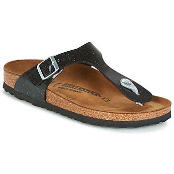 Zapatos Niños Chanclas Birkenstock GIZEH Negro