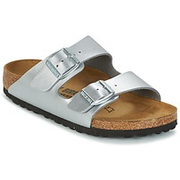 Zapatos Niños Zuecos (Mules) Birkenstock ARIZONA Plata