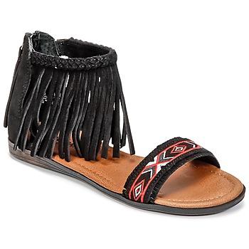 Zapatos Mujer Sandalias Minnetonka MOROCCO Negro