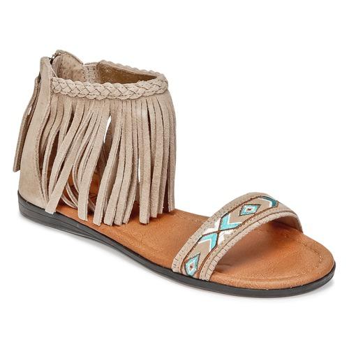 Mujer Morocco Sandalias Minnetonka Topotea Zapatos 7vYIf6ybg