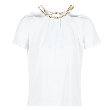 textil Mujer Tops / Blusas Versace Jeans B2HPB721 Blanco
