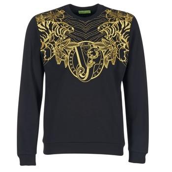 textil Hombre sudaderas Versace Jeans B7GPB7F0 Negro