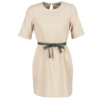 textil Mujer vestidos cortos Vero Moda MILO SUKI Beige