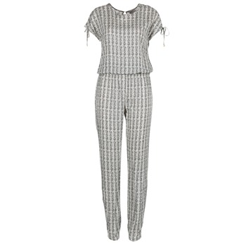 textil Mujer Monos / Petos Vero Moda NOW Blanco / Negro