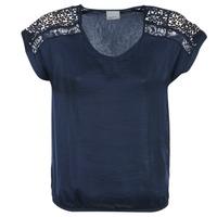 textil Mujer Tops / Blusas Vero Moda SATINI Marino