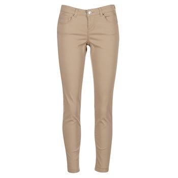 textil Mujer pantalones con 5 bolsillos Vero Moda BUENO Beige