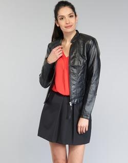 textil Mujer Chaquetas de cuero / Polipiel Vero Moda QUEEN Negro