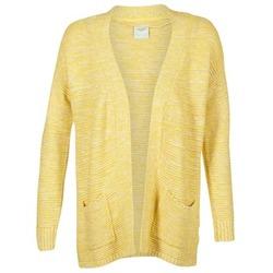 textil Mujer Chaquetas de punto Vero Moda GERDA Amarillo