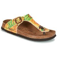 Zapatos Mujer Chanclas Papillio GIZEH Amarillo / Verde
