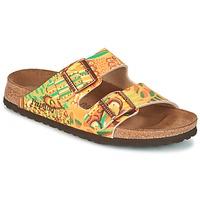 Zapatos Mujer Zuecos (Mules) Papillio ARIZONA Amarillo / Verde