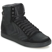 Zapatos Zapatillas altas Hummel TEN STAR MONO OILED IG Negro / Negro