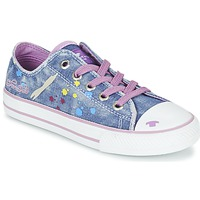 Zapatos Niña Zapatillas bajas Tom Tailor JIJAA Azul / Violeta