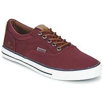 Zapatos Hombre Zapatillas bajas Tom Tailor EXIBOU Burdeo
