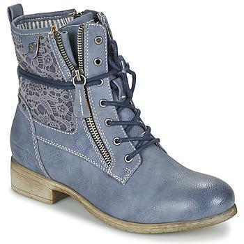 Zapatos Mujer Botas de caña baja Tom Tailor RELOUNI Azul