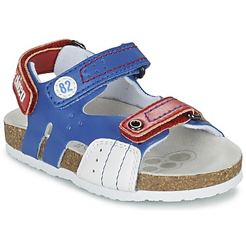 Zapatos Niño Sandalias Chicco HELIO Azul / Blanco / Rojo